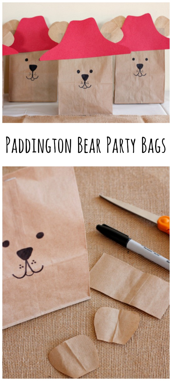 Paddington Bear Party Goodie Bags
