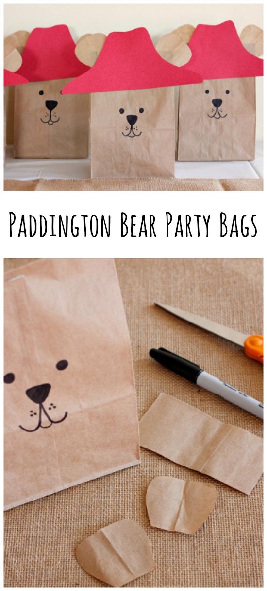 Paddington Bear Party Goodie Bags