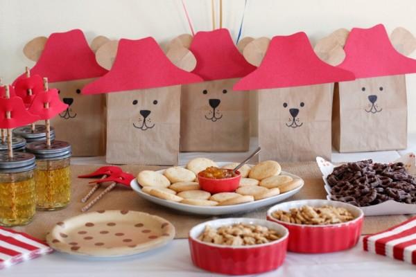 Paddington Bear Party Ideas and Table Treats