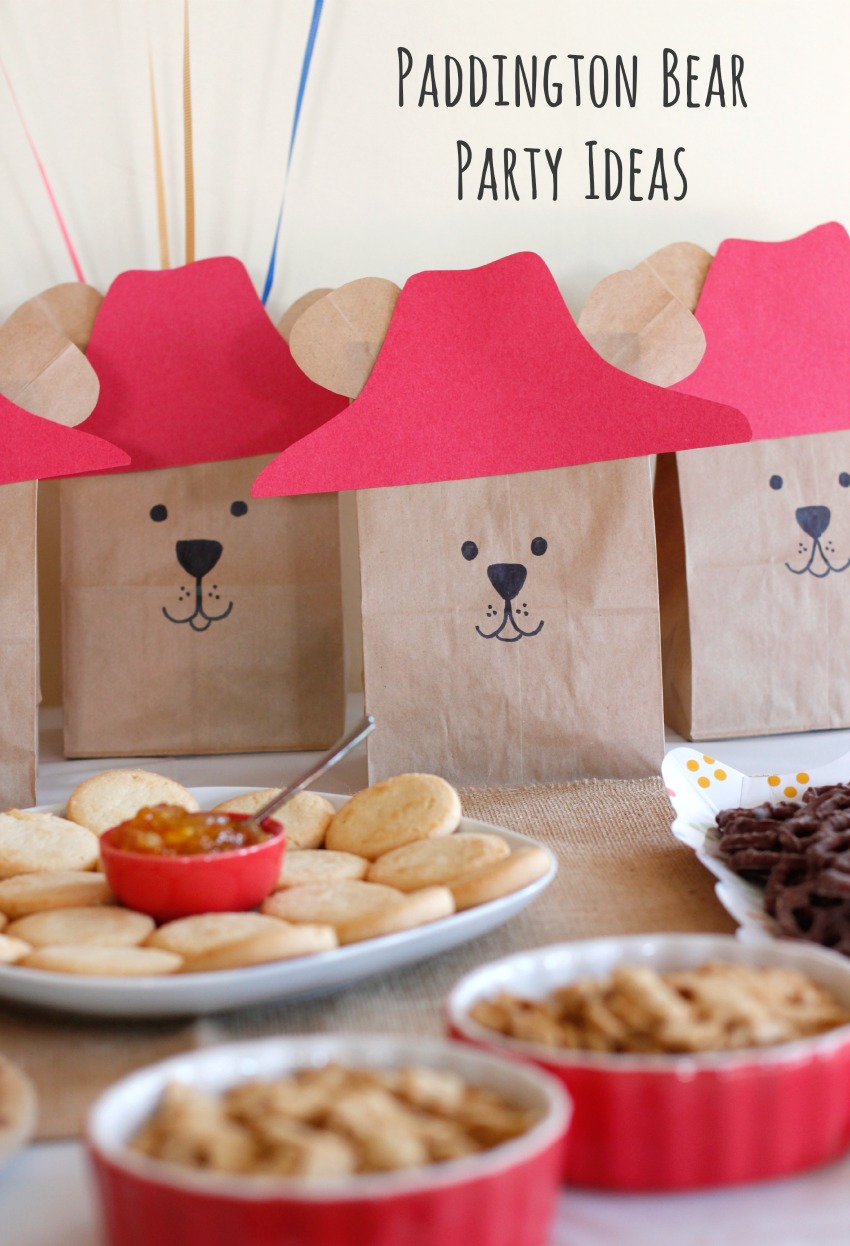Paddington Bear Party Ideas Make And Takes