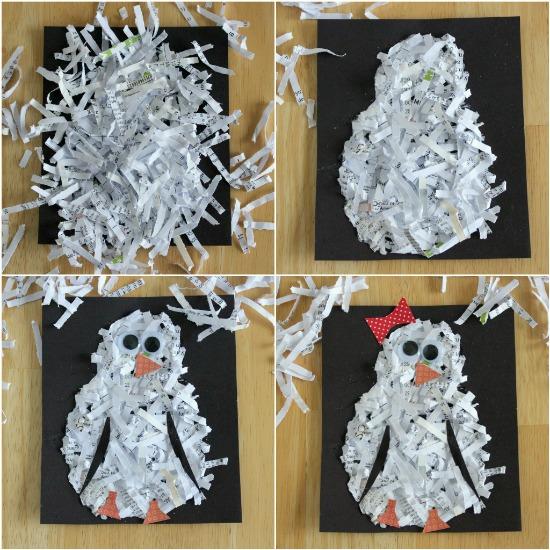 Поделки из бумаги своими руками зимние
