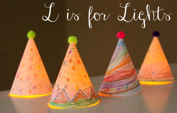 Holiday Abc Series L Is For Lights Make And Takes