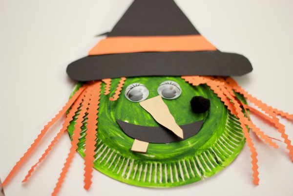 Construction Paper Witch Craft
