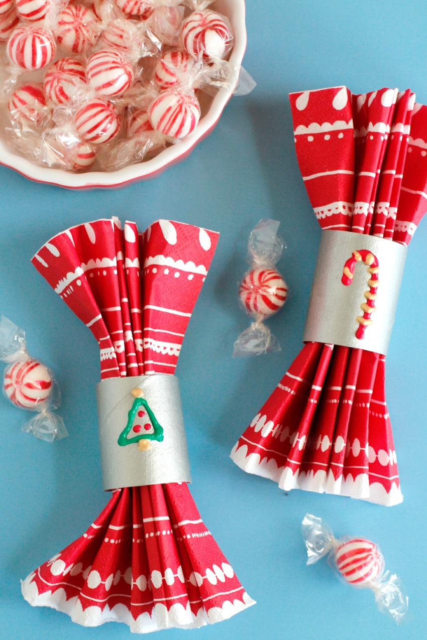 Holiday Paper Tube Napkin Holders Make And Takes