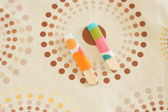 Paper Tube People by Francine Clouden for Make and Takes