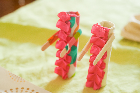Paper Tube People: Crafting with Kids