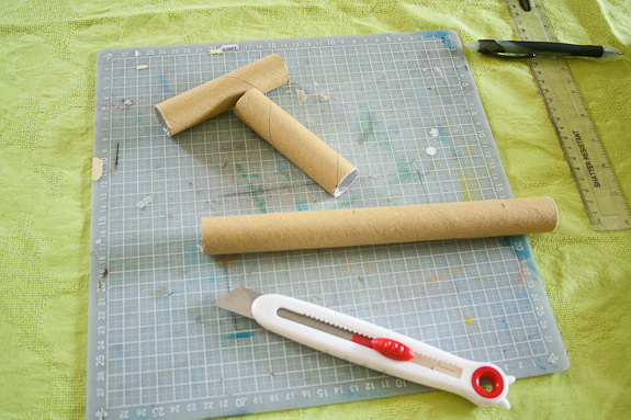 Building Paper Tube People