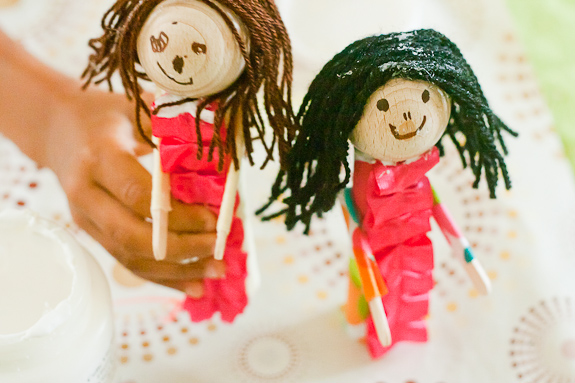 Crafting With Kids: Paper Tube People Puppets