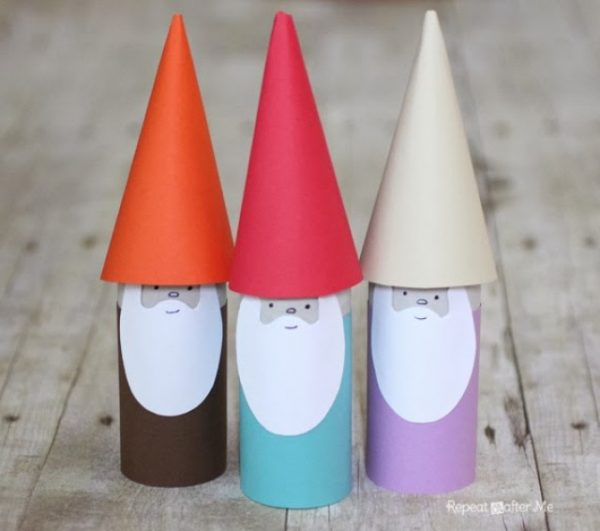Paper Roll Gnomes