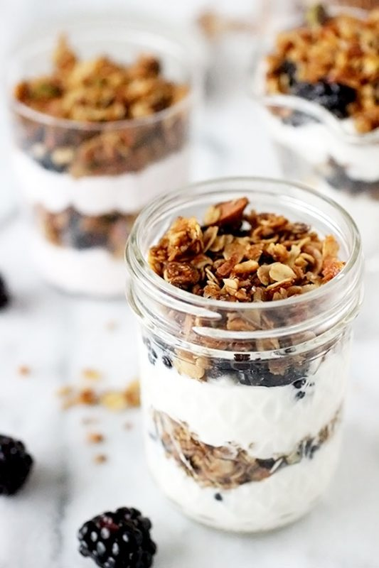 Parfaits-with-Homemade-Granola