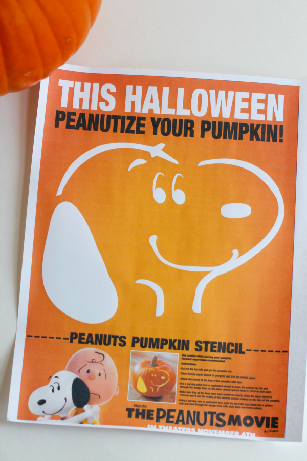 Peanutize Your Pumpkins with The Peanuts Movie