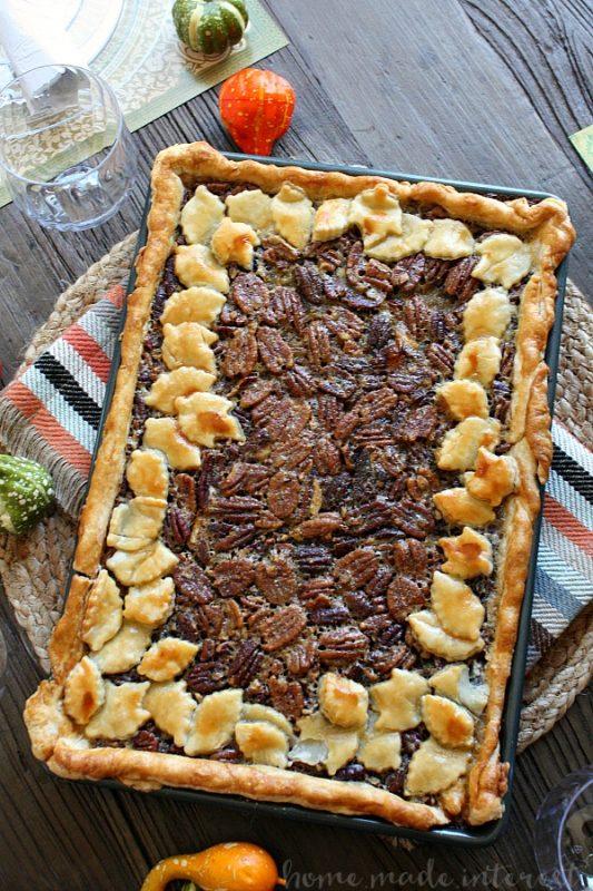 Pecan Slab Pie