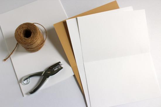 Photo Album paper making