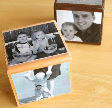 Photo Cube Blocks