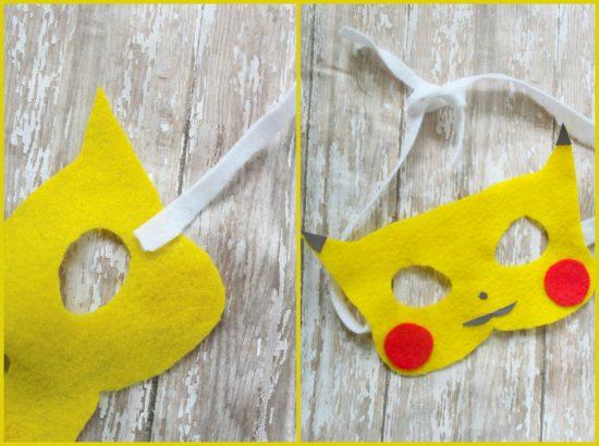 Pikachu Felt Mask
