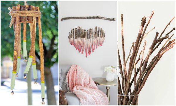 9 Now Ideas: DIY Tree Branch Home Decor