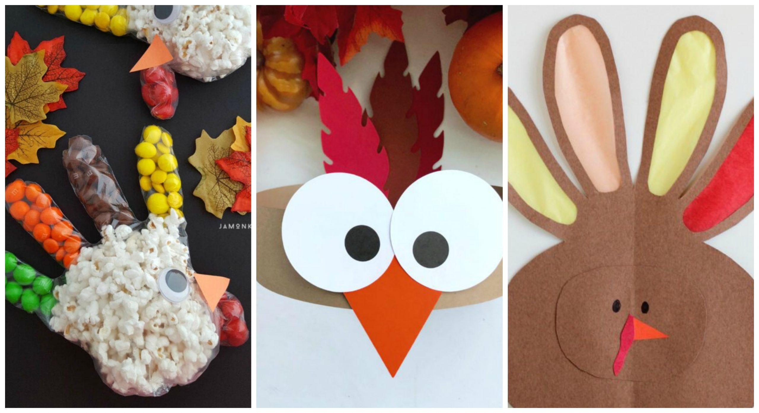 9 Now Ideas for Turkey Kids Crafts