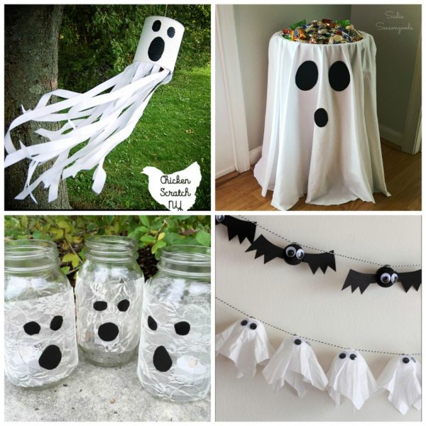 9 Ghoulish DIY Ghosts to Decorate Your Halloween Home
