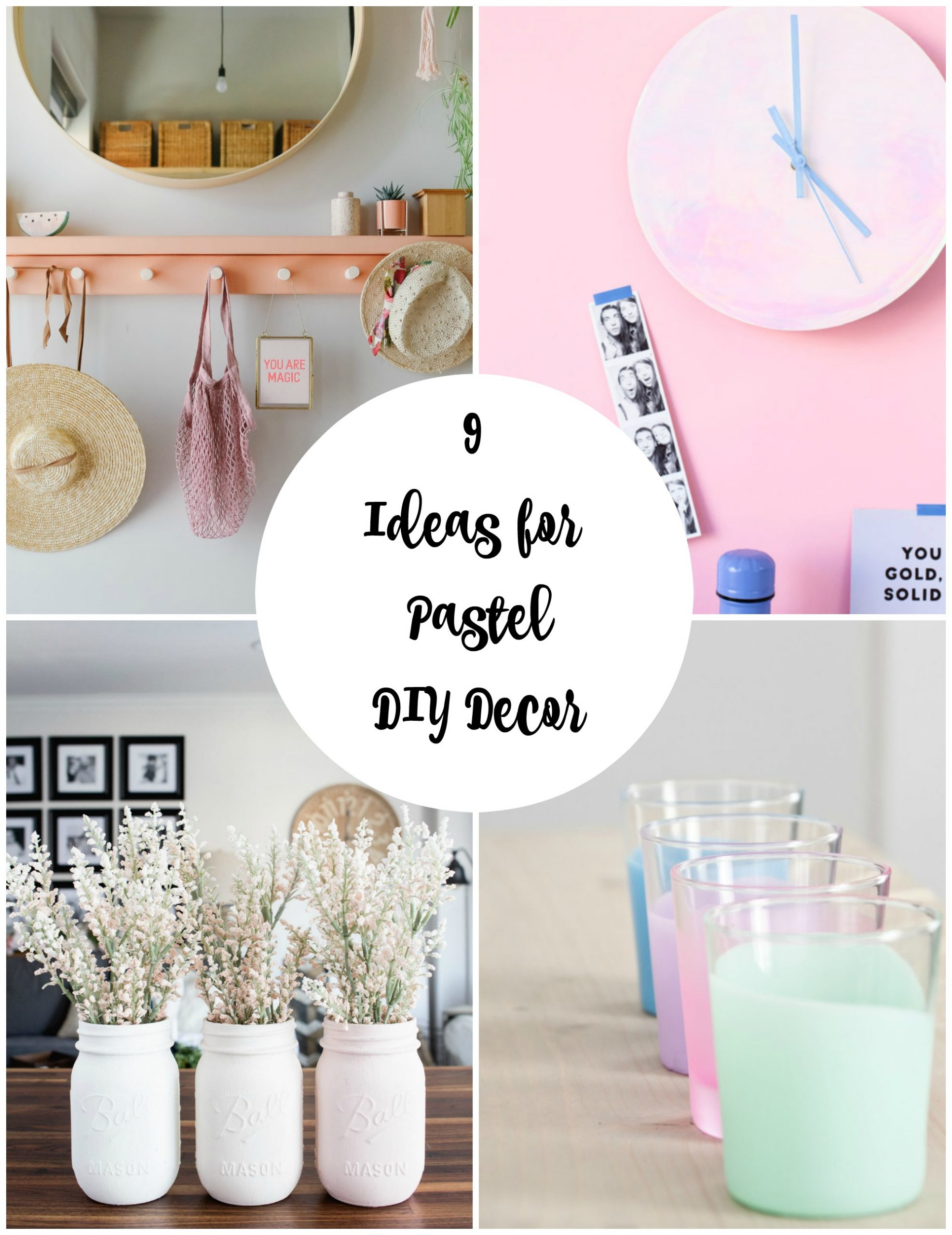 32 Now Ideas for Pastel DIY Decor   Make and Takes