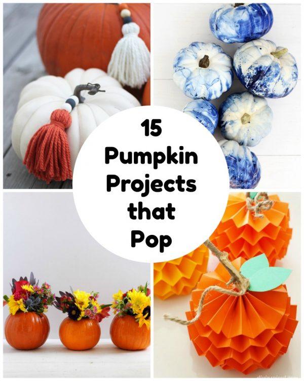 15 Pumpkin Projects that Pop