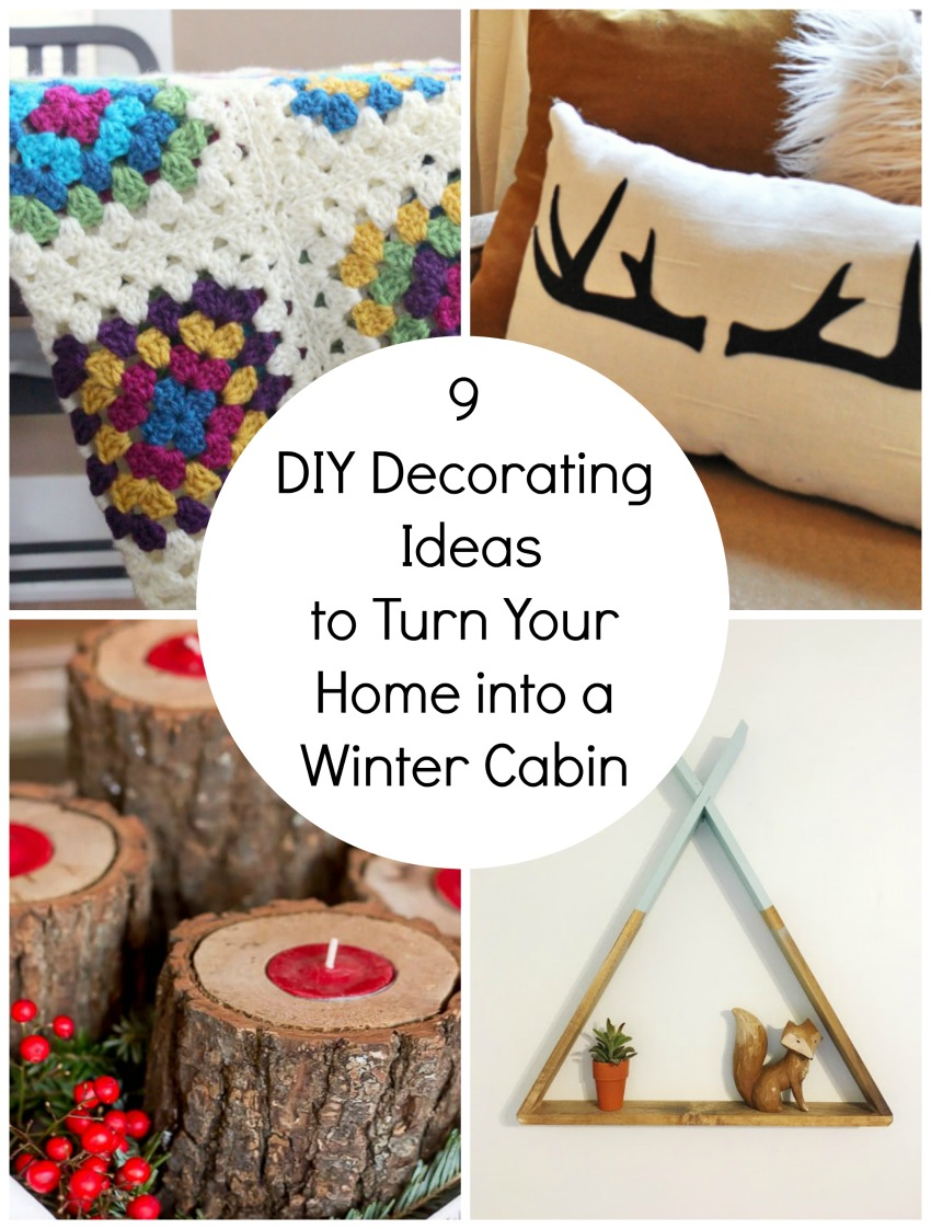 9 decorating ideas for winter cabin home decor make and for Winter cabin bedding