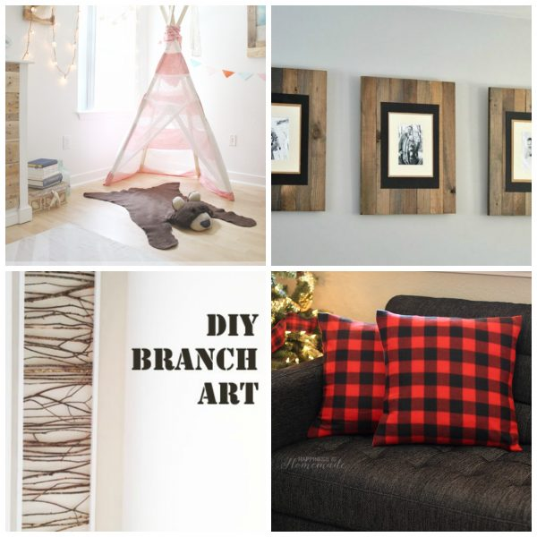 9 DIY Decorating Ideas to Turn Your Home into a Winter Cabin