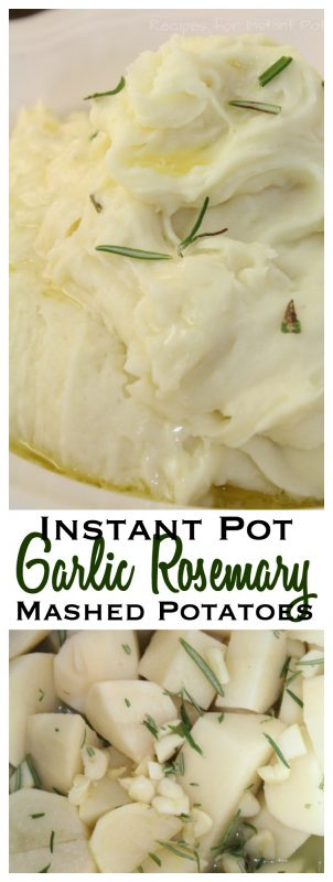 Garlic and Rosemary Mashed Potatoes