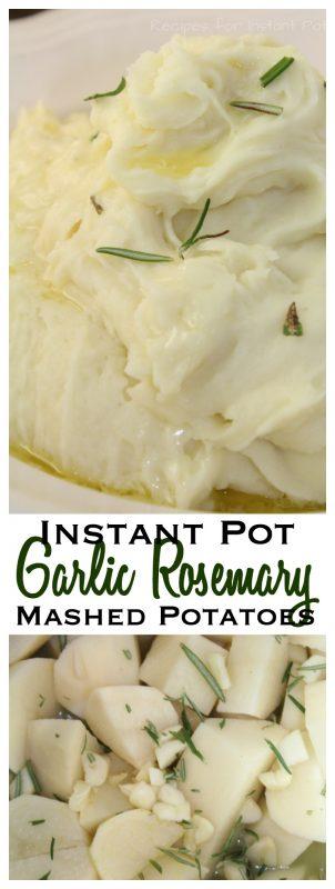 Garlic and Rosemary Mashed Potatoes