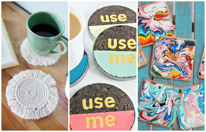 9 Diy Coaster Ideas Make And Takes