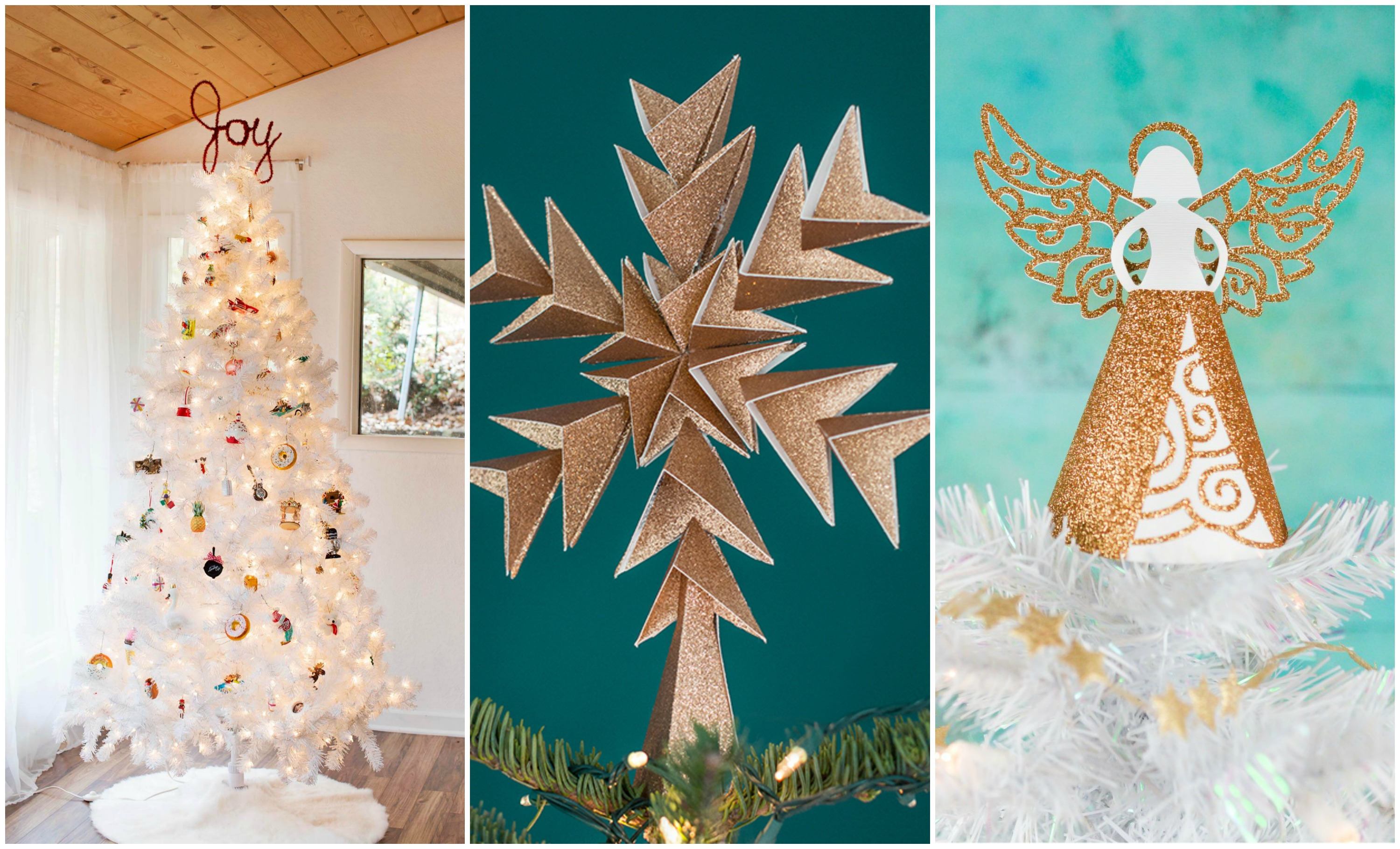 9 Ideas for Christmas Tree Toppers