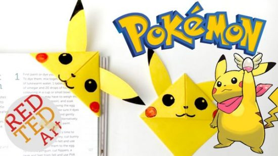 Pikachu Corner Bookmark