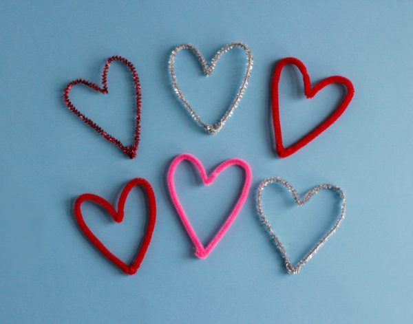 Pipe Cleaner Hearts 6