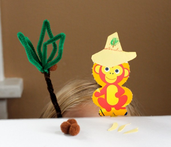 Pipe Cleaner and Cereal Box Puppets Kids Craft