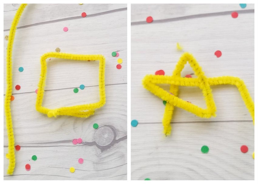DIY Pipe Cleaner Drink Glass Markers