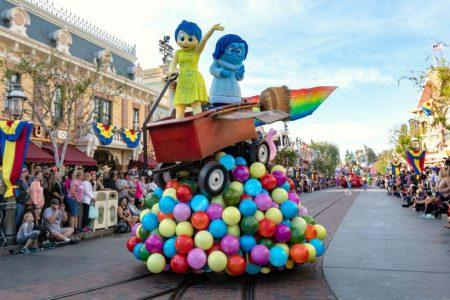 Pixar Fest Play Parade at Disneyland