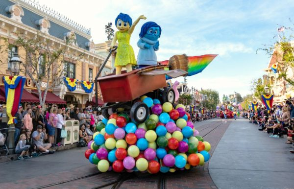 Pixar Fest Play Parade at Disneyland