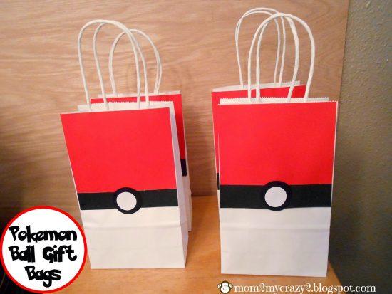 Pokéball Gift Bag