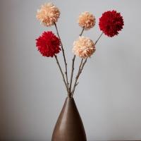 Pom Pom Valentine Flowers