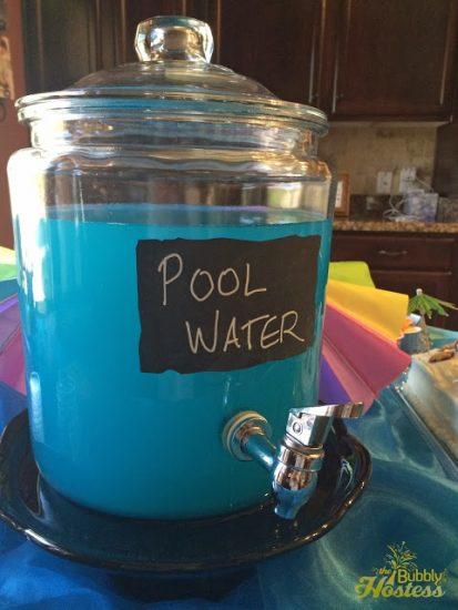 Pool Water Drink