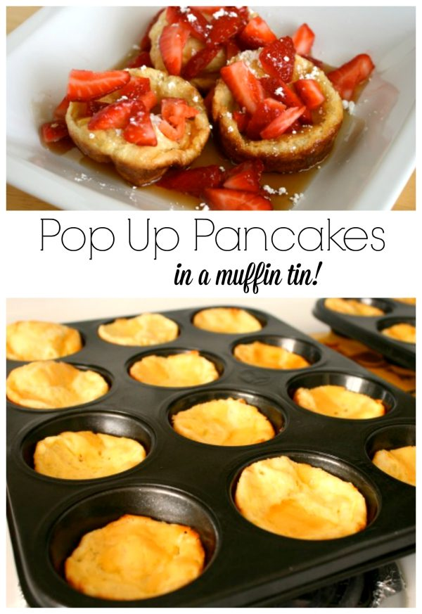 Pop Up Pancakes in a Muffin Tin
