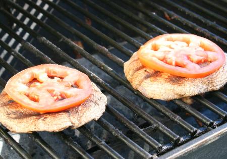 Portabello Mushrooms with Tomato