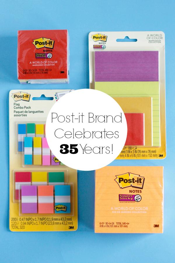Post-it Brand Celebrates 35 Years