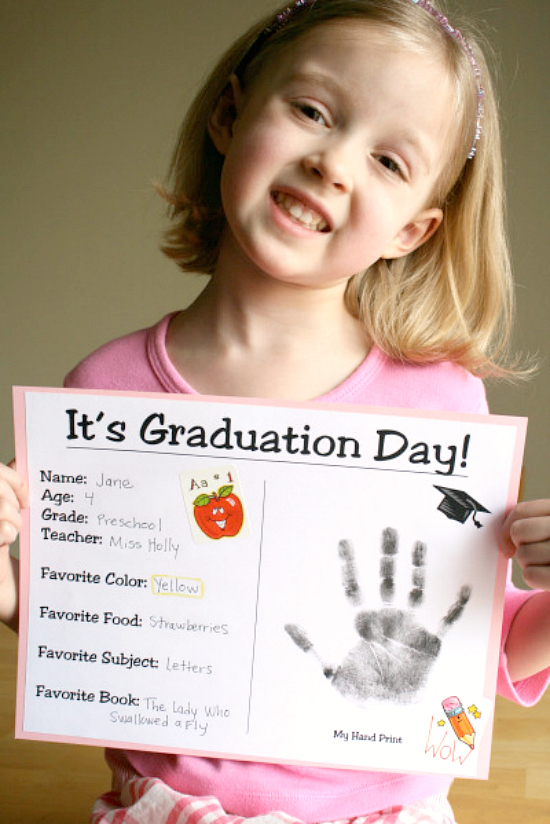 Preschool Graduation Certificate to Make