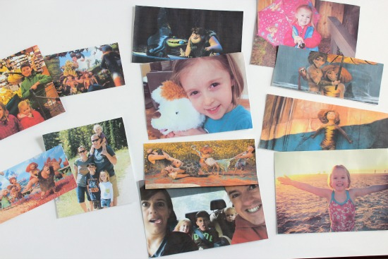Printing pictures for a photo album