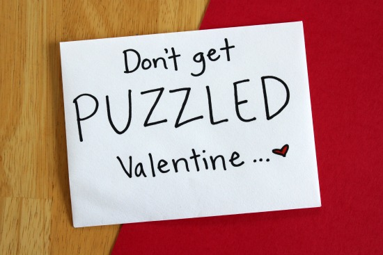 Puzzling Cards For Your Valentine Make And Takes