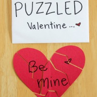 Heart Puzzle Card