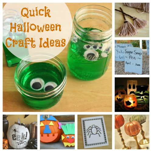 Quick Halloween Craft Ideas makeandtakes.com