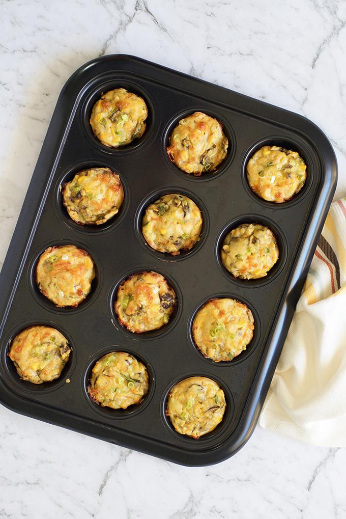 Quick and Easy Quiche Muffins Recipe