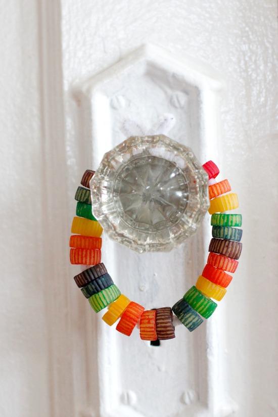 Rainbow Colored Pasta Door Hanger.jpg