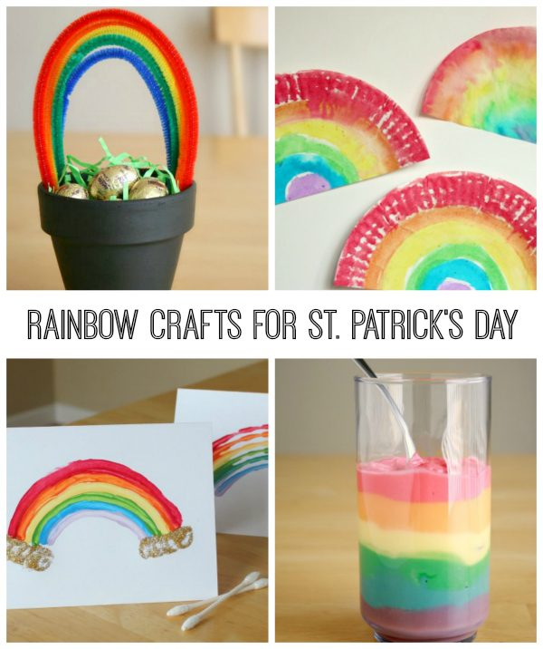 30+ St. Patrick's Day Crafts For Kids